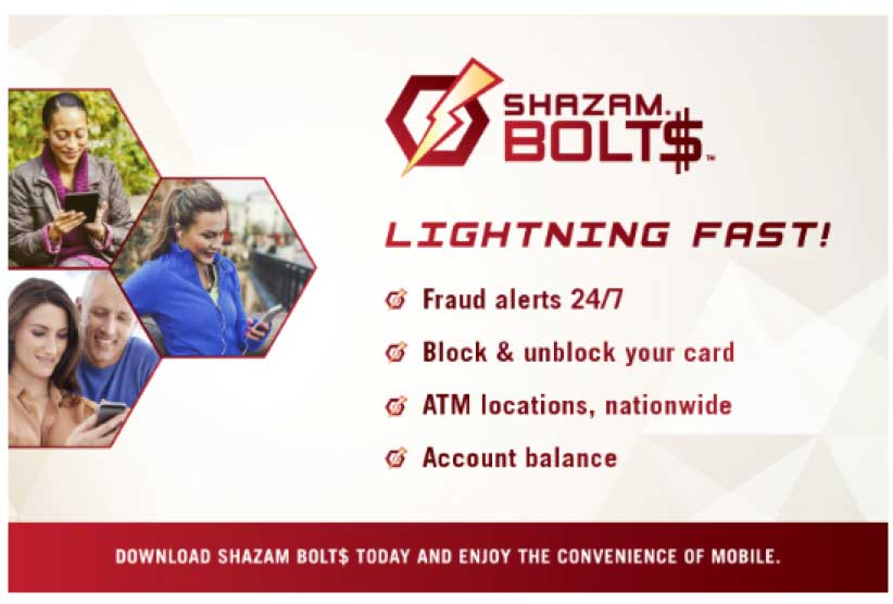 Download Shazam Bolt, lightning fast!